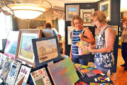 Weaver, artists share talents at exhibit