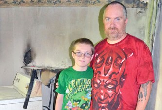 Boy's actions lead to safe exit of local family in Father's Day fire