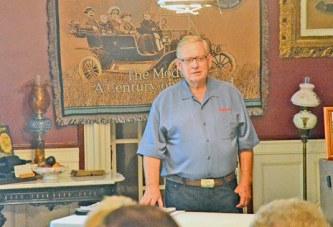Shields tells of trials, tribulations of restoring 1923 Ford Model TT truck