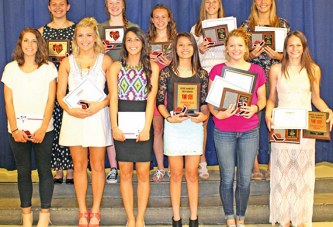 Girls track banquet