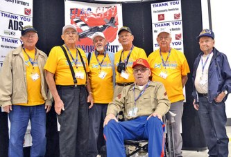 County veterans take to the skies for annual Flag City Honor Flight