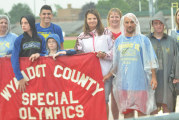 Rain doesn't dampen spirits as Special Olympics gets started