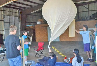 High school science experiment gets lofty at Wyandot County's airport