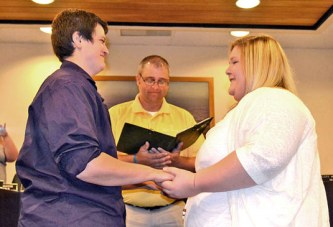 Marriage in county: Process the same for all consenting couples