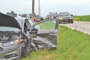2 injured in afternoon collision