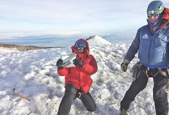 Upper native makes it to the top of Mount Rainier, joining 40 percent