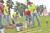 Groups work to improve condition of veterans' grave sites in local cemeteries