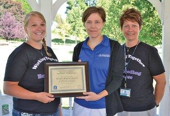 WIC recognizes Wyandot Memorial as Breastfeeding Friendly Workplace