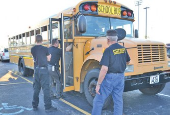 Area bus drivers, law enforcement officials reminded of safety