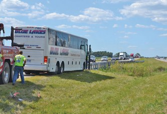 Solidarity: Passengers jump into action to prevent more injuries in bus crash
