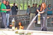 Business reps hear about fire safety at work