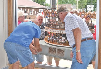 Hand-crafted carousel donated to Mohawk Historical Society