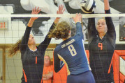Holly, Owens each have 18 kills as Upper sweeps