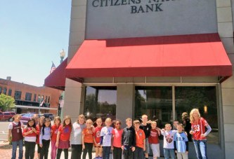 Class, bank partnership leads to student growth for Team Newell