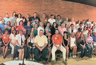 Upper Sandusky HS class of 1975 gathers
