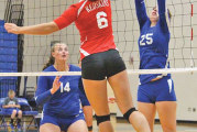 Pauley leads Riverdale to BVC sweep