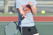 Calvert sweeps singles to top Upper, 3-2