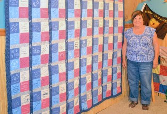 Quilt returns to Wyandot County Fair after three decades away