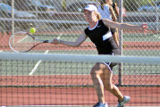 Whippets defeat Rams tennis, 4-1