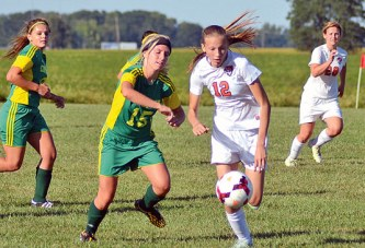 Undefeated Rams, Hornets play to 1-1 girls soccer draw