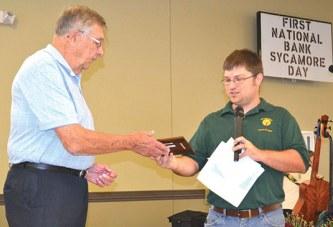 Steward honored as senior of 2015
