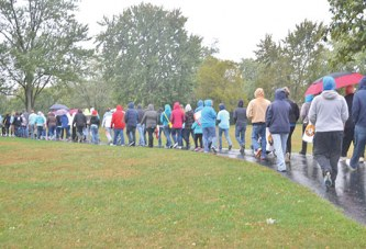 Recovery stories highlighted at walk