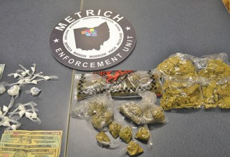 METRICH unit finds cocaine, pot
