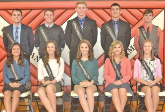 USHS homecoming court