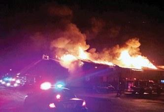 Several 'heroes' save lives at Kenton blaze
