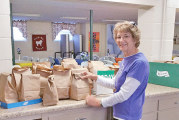 Harpster UMC distributes 60 sack lunches to thank area farmers for their hard work
