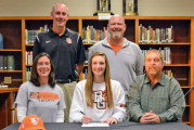 Rams' Holly commits to BG for Volleyball