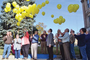 Balloon launch marks hospice month