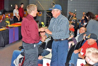 MHS students honor local veterans