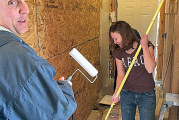 Rotary Club works at new camp