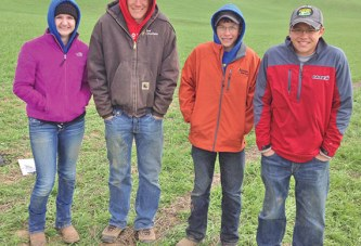 FFA team places 2nd in state to qualify for national soil judging