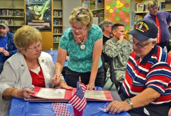 Special guests return to USMS for Vets Day program