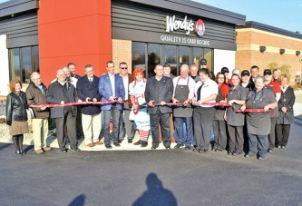 Wendy's remodel celebrated