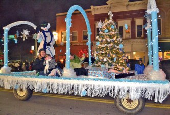 Hundreds attend annual Home for the Holidays parade