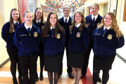 USHS sophmore wins spot at state FFA job interview CDE competition