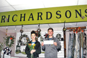 USHS marketing students partner with local florist on sales project