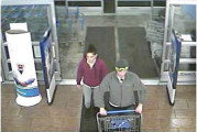 Upper police seek couple in Walmart thefts