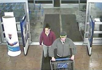 Upper police seek couple in Walmart thefts