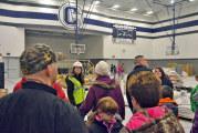 Carey school officials lead tours