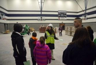 Carey Exempted Village Schools new school building site tour