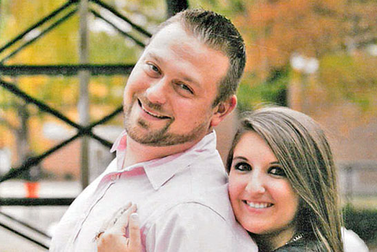 Anthony Nugeness and Jordan Karg engagement featured