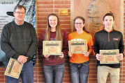 USHS students of the month