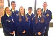 Upper FFA students compete in state parli pro contest