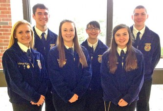 Upper FFA students compete in state parli pro contest