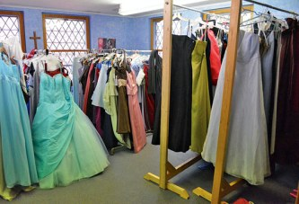 'Sisters' collect used prom dresses to give away to area high school girls
