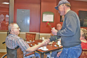 At area nursing facilities, veterans thanked for service